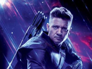 Hawkeye in Avengers Endgame wallpaper