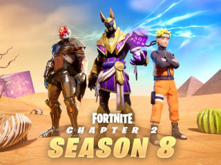 HD Fortnite Chapter 2 Season 8 Cubed wallpaper
