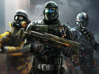 HD Gaming Modern Combat 5 Blackout wallpaper