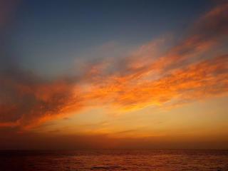 HD Ocean Sunset Photography wallpaper