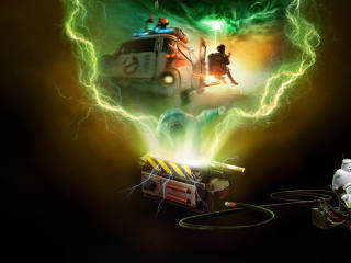 HD Poster of Ghostbusters Afterlife wallpaper