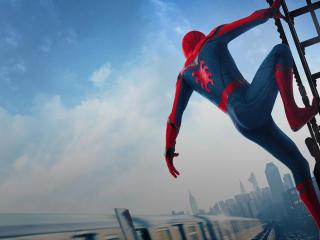 HD Spiderman Homecoming 2017 movie still wallpaper