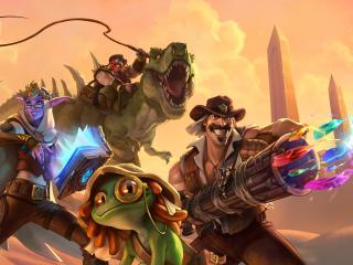 Hearthstone Heroes of Warcraft Game wallpaper