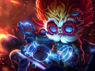 Heimerdinger HD League Of Legends wallpaper