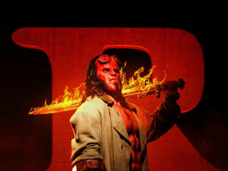 HD Wallpaper | Background Image Hellboy 2019 Movie