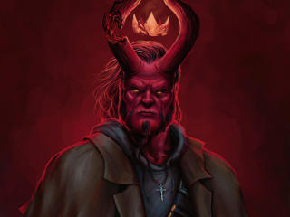 HD Wallpaper | Background Image Hellboy Artwork Deviantart