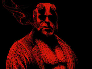 Hellboy Artwork wallpaper