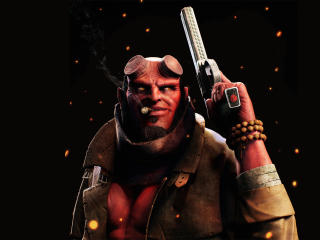 Hellboy FanArt wallpaper