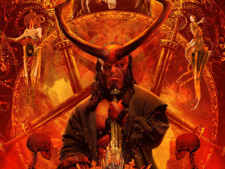 Hellboy Movie 4K wallpaper