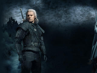 Henry Cavill as Geralt Witcher wallpaper