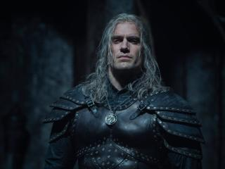 Henry Cavill as Geralt with New Armor in The Witcher 2 wallpaper