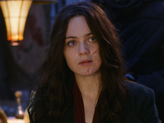 Hera Hilmar in Mortal Engines 2018 Movie wallpaper