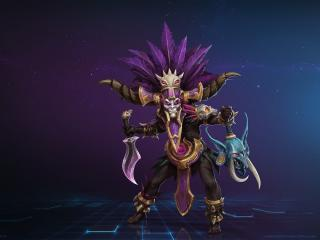 Heroes of the Storm Blizzard Warlock wallpaper