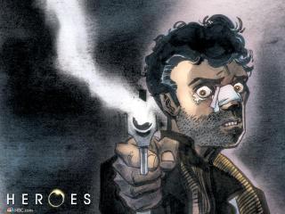 heroes, series, art wallpaper
