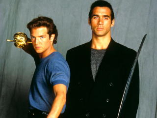 highlander, duncan macleod, adrian paul wallpaper