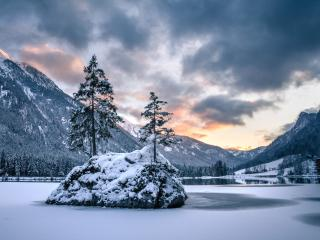 Hintersee Lake wallpaper