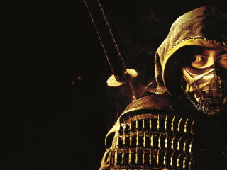 Hiroyuki Sanada as Scorpion Mortal Kombat wallpaper