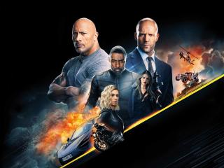HD Wallpaper | Background Image Hobbs & Shaw 8k 10k
