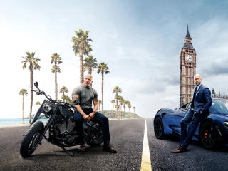 Hobbs & Shaw 2019 Movie wallpaper