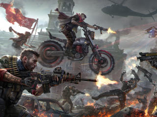 Homefront The Revolution 4k wallpaper