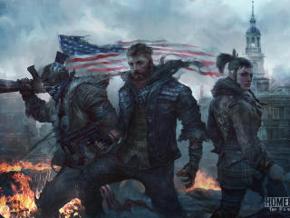 Homefront The Revolution Artwork wallpaper