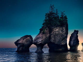 HD Wallpaper | Background Image Hopewell Rocks