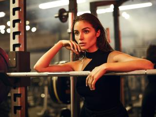 Hot Olivia Culpo in Black 2018 wallpaper
