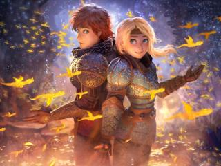 How to Train Your Dragon The Hidden World Movie wallpaper
