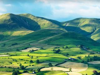 Howgill Fells in the Yorkshire Dales National Park wallpaper
