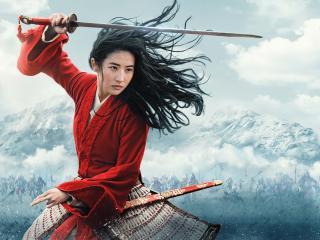 Hua Mulan 4K Poster wallpaper