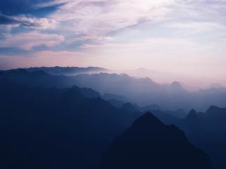HD Wallpaper | Background Image Huashan Mountain In Weinan China