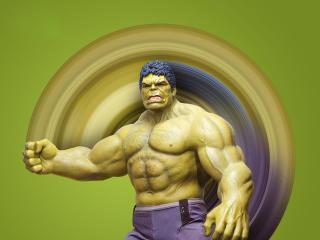 HD Wallpaper | Background Image Hulk Avengers Endgame Art
