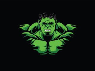 Hulk  Minimal wallpaper
