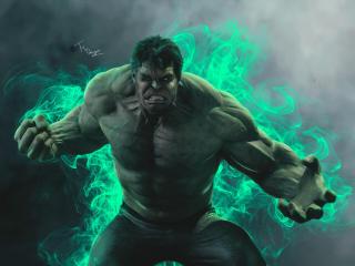 Hulk Smash 4k wallpaper