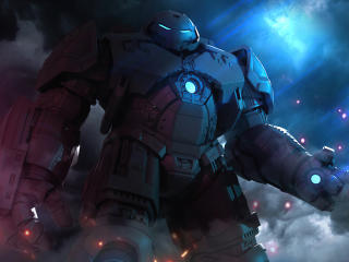 Hulkbuster Marvel Comic wallpaper