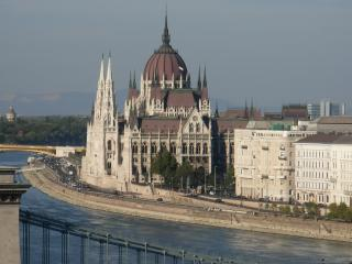 hungary, hungarian parliament, river wallpaper