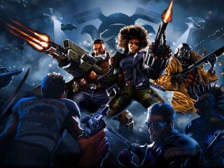 Huntdown Game Cool wallpaper