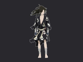 Hyakkimaru from Dororo wallpaper