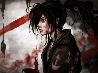 Hyakkimaru In Dororo Anime wallpaper