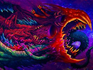 Hyper Beast CSGO Art Cool wallpaper