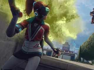 Hyper Scape Cyberpunk Fight wallpaper