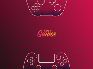 I am a Gamer Art wallpaper