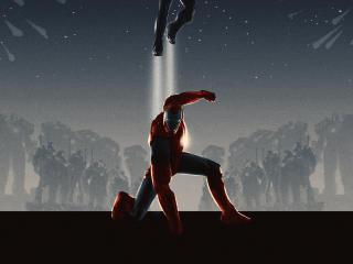 I am Iron Man Art wallpaper