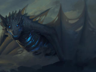 Ice Dragon Game Of Thrones 7 wallpaper