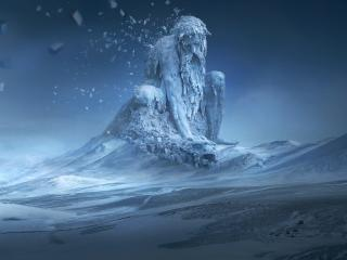 Ice Man Creature wallpaper