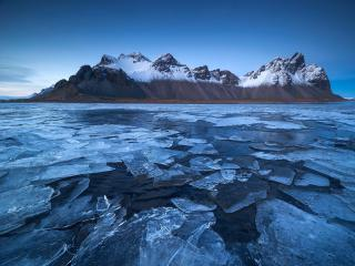 Ice Mountains wallpaper