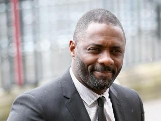 Idris Elba Cute Pic wallpaper
