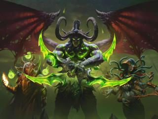 Illidan Stomrage WoW wallpaper