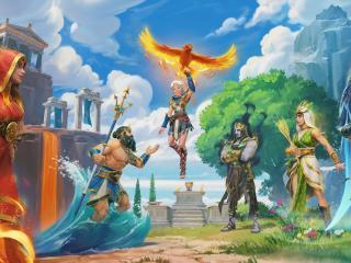 Immortals Fenyx Rising New Gods wallpaper