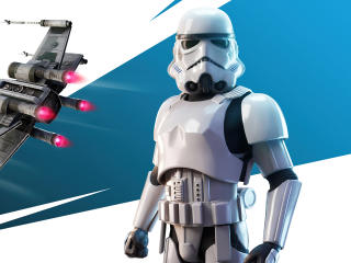 Imperial Stormtrooper Outfit Fortnite wallpaper